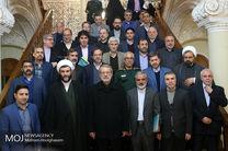 دیدار اعضای ستاد برگزاری چهلمین سالگرد پیروزی انقلاب با لاریجانی
