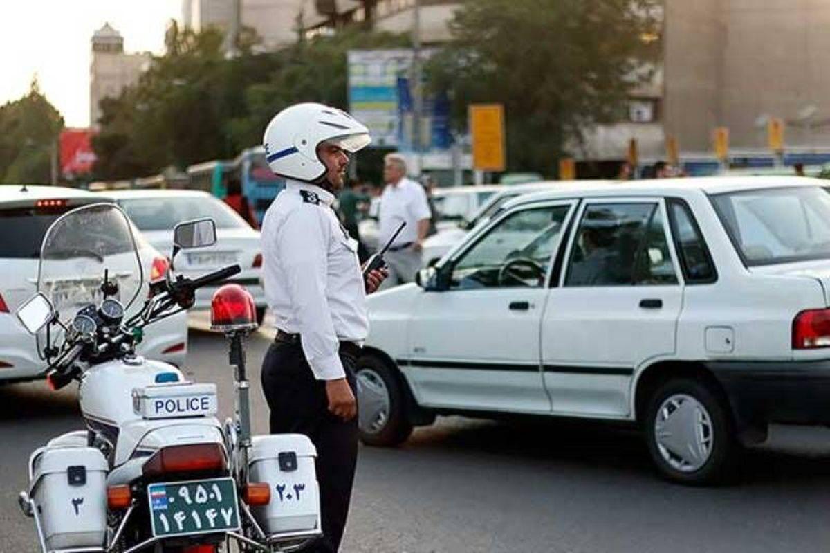 ترافیک نیمهسنگین در ورودی کلانشهر تهران