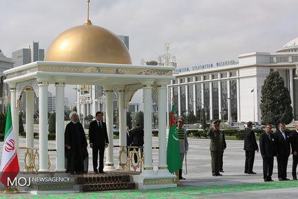 سفر رییس جمهوری به ترکمنستان