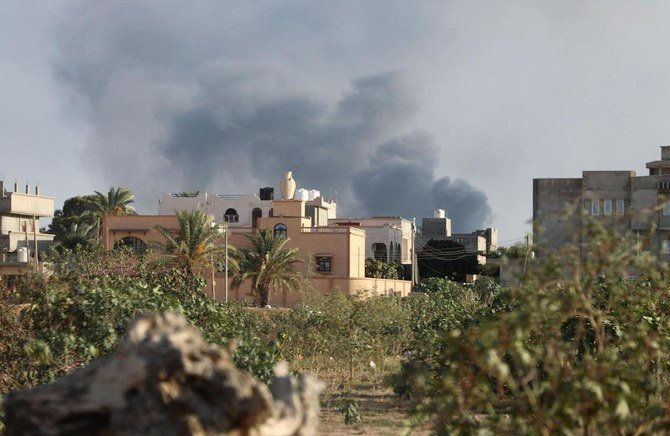 Libya's GNA launched airstrike to Haftar's forces
