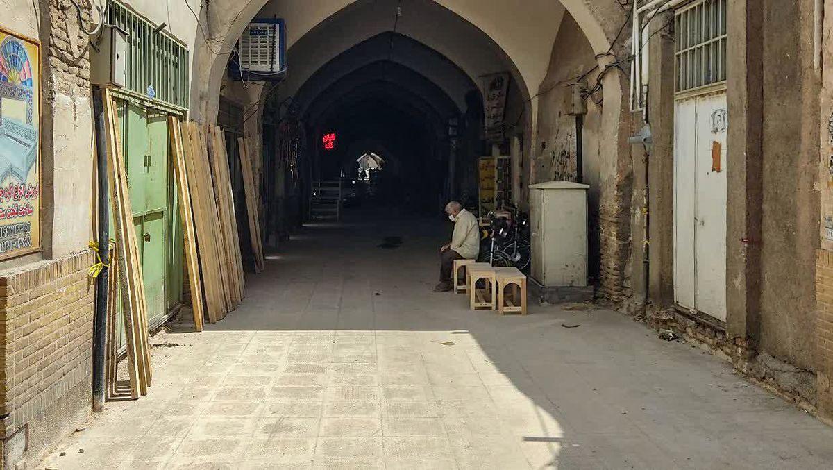 محور تاریخی بازار کهنه قم بهسازی میشود