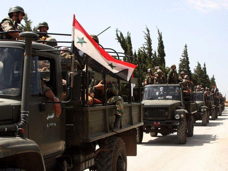 ارتش سوریه کنترل روستای تل ممو را به دست گرفت