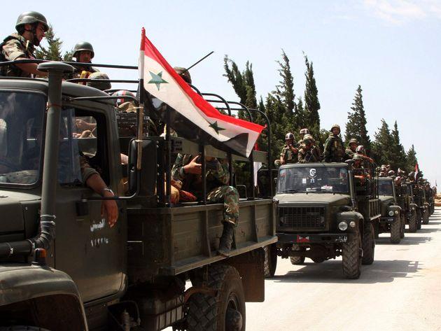 منطقه غرز در جنوب شرق درعا به طور کامل از تروریسم پاکسازی شد
