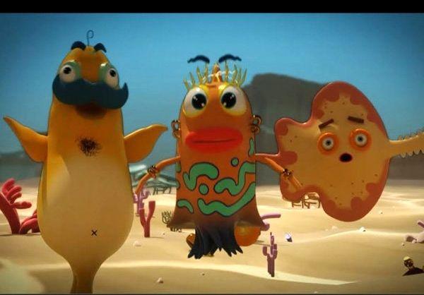 ساخت سری جدید انیمیشن ماهی بادکنکی