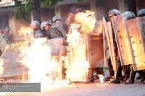 کودتا در ونزوئلا / تصرف یک منطقه کاراکاس توسط نظامیان / مقر گارد ملی ونزوئلا سقوط کرد