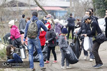 طرح جمع آوری زباله از محیط زیست