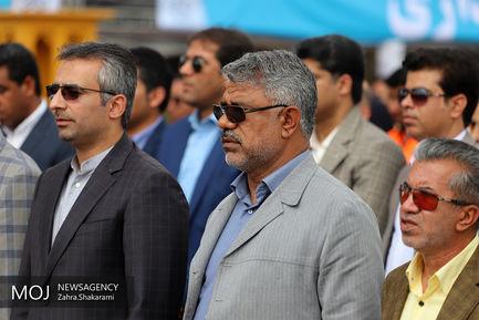 افتتاح ستاد استقبال از مهمانان نوروزی در بندرعباس