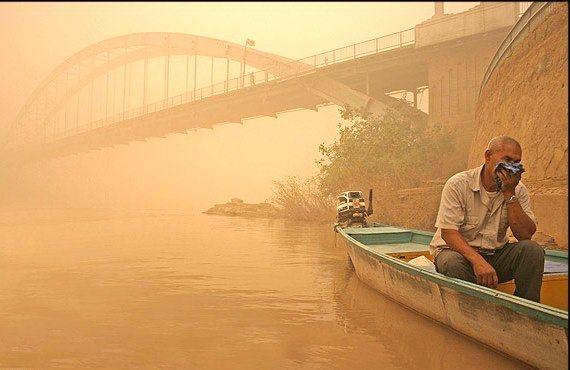 خوزستان درگیر جمعه خاکی 14 برابر حد مجاز است