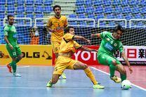 درخشش بازیکنان ایرانی در اولین روز جام باشگاههای فوتسال آسیا