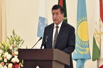 سورنبای جینبکف رئیس جمهور جدید قرقیزستان شد