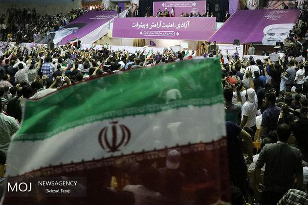 ستاد انتخابات روحانی از حضور حماسی مردم کرمانشاه تشکر کرد
