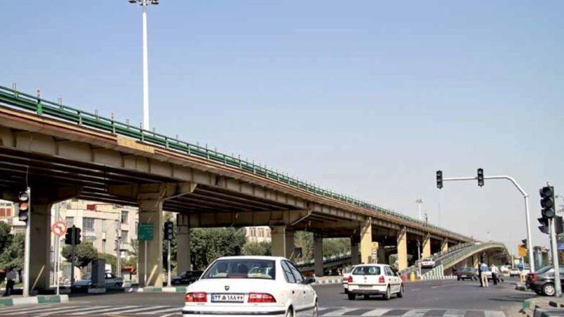 پل گیشا در غرب تهران مسدود شد