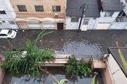 آب گرفتگی شهر رشت بعد از بارندگی شدید باران!