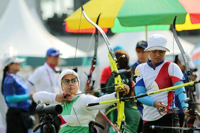 زهرا نعمتی به مرحله یک هشتم بازی های آسیایی راه یافت