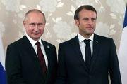 دیدار ماکرون و پوتین با محوریت ایران