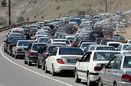 آخرین وضعیت جوی و ترافیکی جاده ها در 25 شهریور / ترافیک در آزادراه کرج- تهران