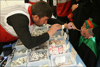 ارائه خدمات پزشکی عمومی و تخصصی به حدود ۱۳۰۰ بیمار محروم شهرستان سرخس