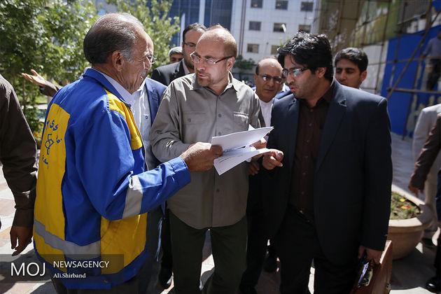قالیباف:دیگر تمایلی برای ماندن در شهرداری ندارم/ نه قالیباف به شهرداری اهواز