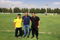 بازدید کیروش از تمرین تیم ملی فوتبال نوجوانان
