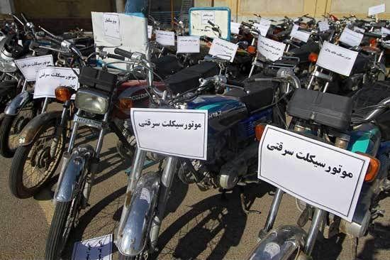انهدام باند حرفه ای سارقان موتورسیکلت در خمینی شهر