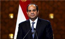 السیسی هنگام سخنرانی امیر قطر سالن اجلاس سران عرب را ترک کرد