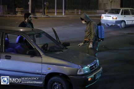 ضدعفونی و گندزدایی وسایل نقلیه در تهران
