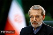 دیدار لاریجانی با رئیس اتحادیه بین المجالس