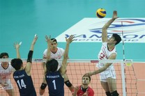 پیروزی تیم والیبال نوجوانان ایران برابر روسیه