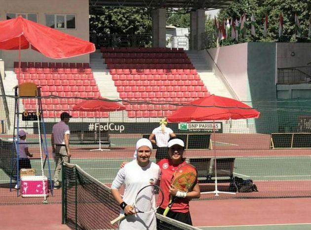 دومین شکست متوالی تیم ملی تنیس بانوان ایران در مسابقات فدکاپ