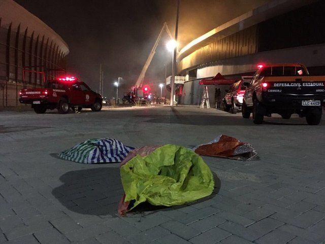 آتش سوزی به پیست ولودروم ریو ۲۰۱۶ آسیب زد