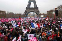 مسابقات فوتبال، سدی برای احقاق حق معترضان فرانسه