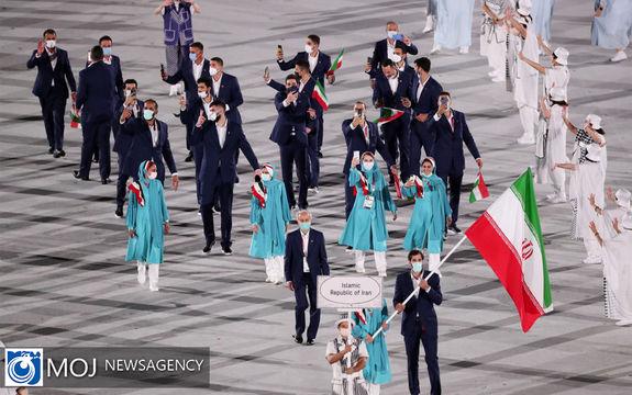 افتتاح رسمی سی و دومین دوره بازی های المپیک در توکیو
