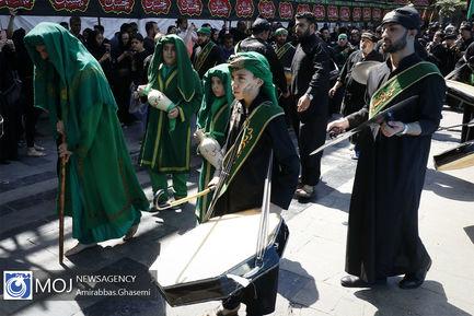 عزاداری+ظهر+تاسوعای+حسینی+(ع)+در+بازار+بزرگ+تهران
