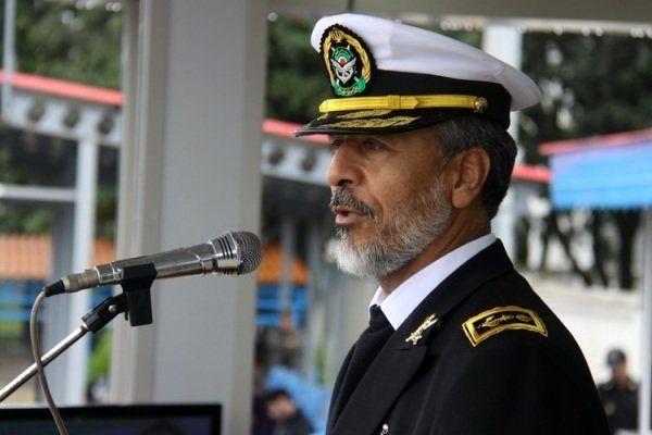 امنیت را در آبهای بینالمللی نشانه اقتدار نیروی دریایی ارتش است