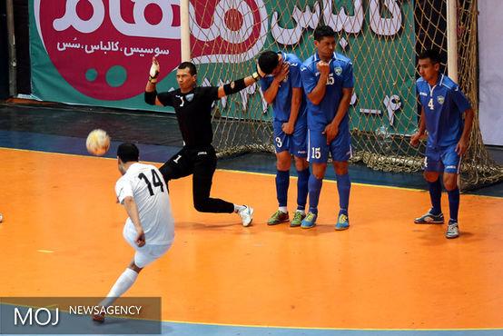 فوتسالیستهای ایران برای بار دوم در مقابل ازبکستان پیروز شدند