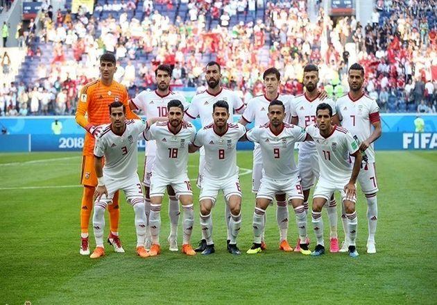 ترکیب اصلی تیم ملی فوتبال ایران برابر اسپانیا