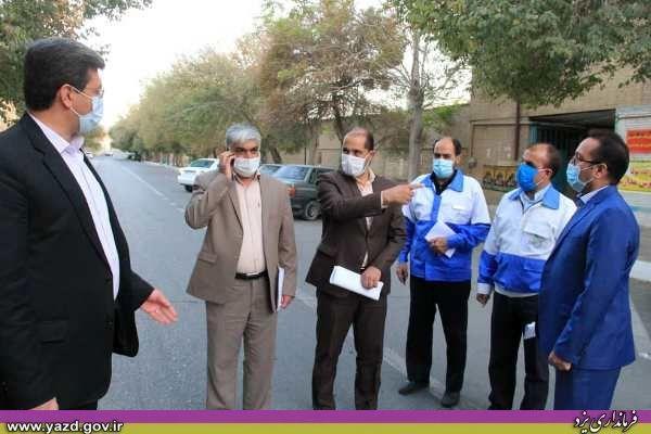 برخی اقدامات اخیر فرمانداری یزد برای مقابله با کرونا