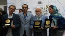 اشک دبیر درآمد/ اهدای نشان عالی صلح به بیضایی و ابتهاج و دو هنرمند پیشکسوت نقاش