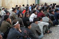 محل اختفای تعدادی تبعه غیر مجاز در حاشیه شهر یزد شناسایی شد