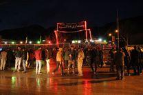 هماکنون در پادنا برف و باران میبارد/ حضور اعضای ستاد بحران کهگیلویه و بویراحمد در پادنا