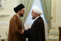 عمار حکیم پیروزی روحانی را تبریک گفت