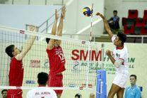 شکست نوجوانان والیبال ایران برابر جمهوری چک