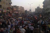 راهپیمایی مردمی «نان» یمن به «الحدیده» رسید +عکس