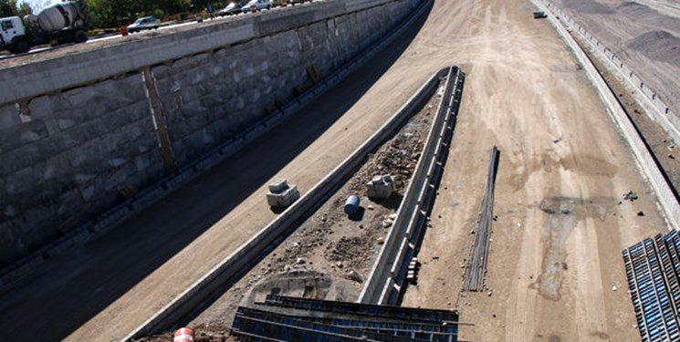 پروژه تقاطع غیرهمسطح شهید سلیمانی کرمانشاه در مسیر پیشرفت