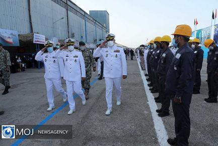 استقبال فرمانده کل ارتش  از ناوگروه ۷۵