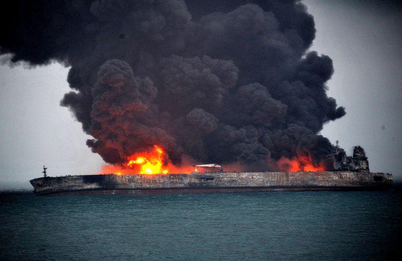 جسد یکی از مفقودشدگان حادثه نفتکش ایرانی پیدا شد