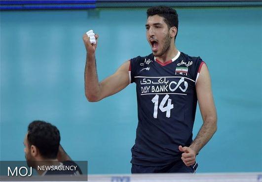 معنوینژاد امتیازآورترین بازیکن ایران مقابل برزیل شد