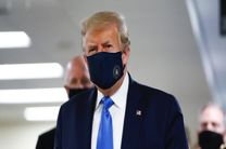 دونالد ترامپ در کاخ سفید اعلام پیروزی کرد