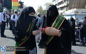 راهپیمایی جاماندگان اربعین حسینی در تهران (۱)