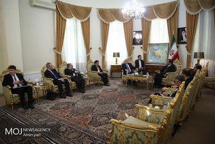دیدار وزیرخارجه آذربایجان با علی شمخانی